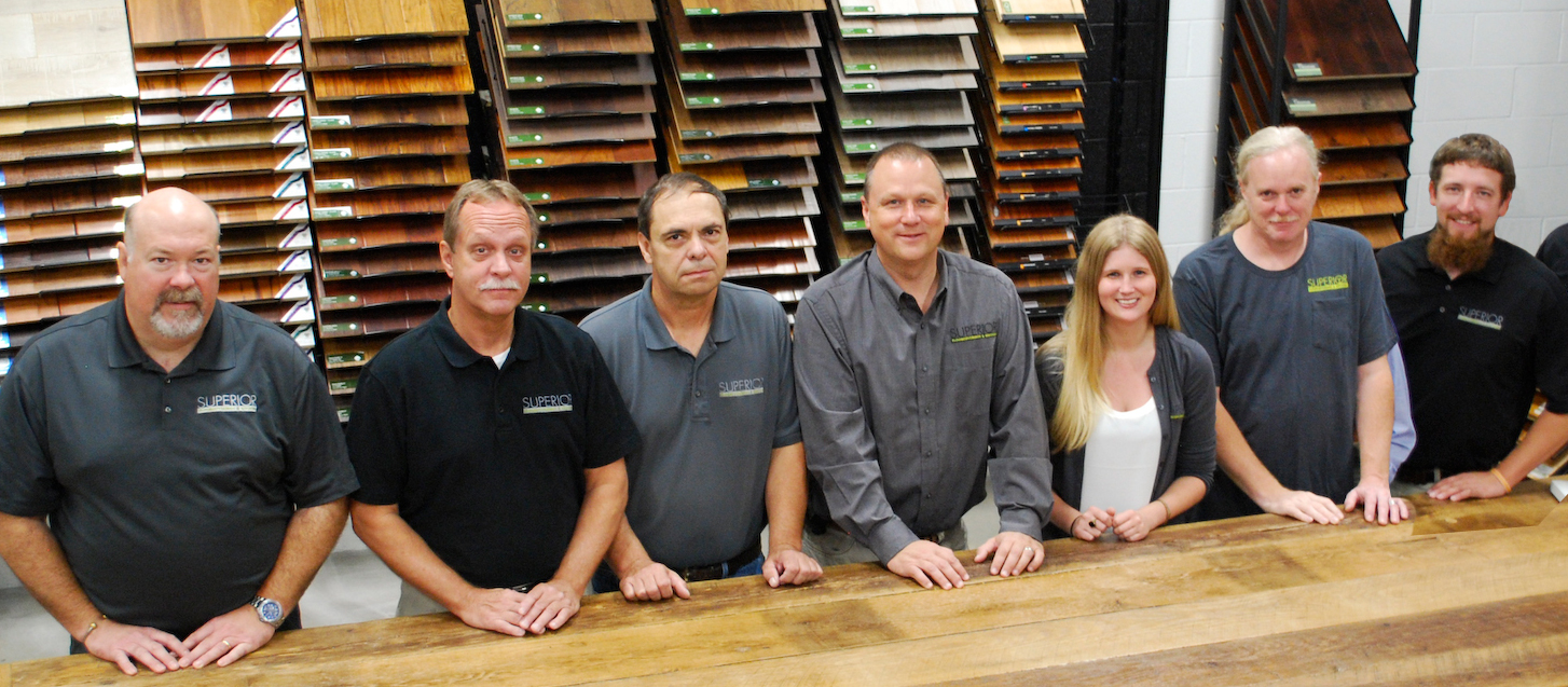 Superior Floorcoverings & Kitchens Staff