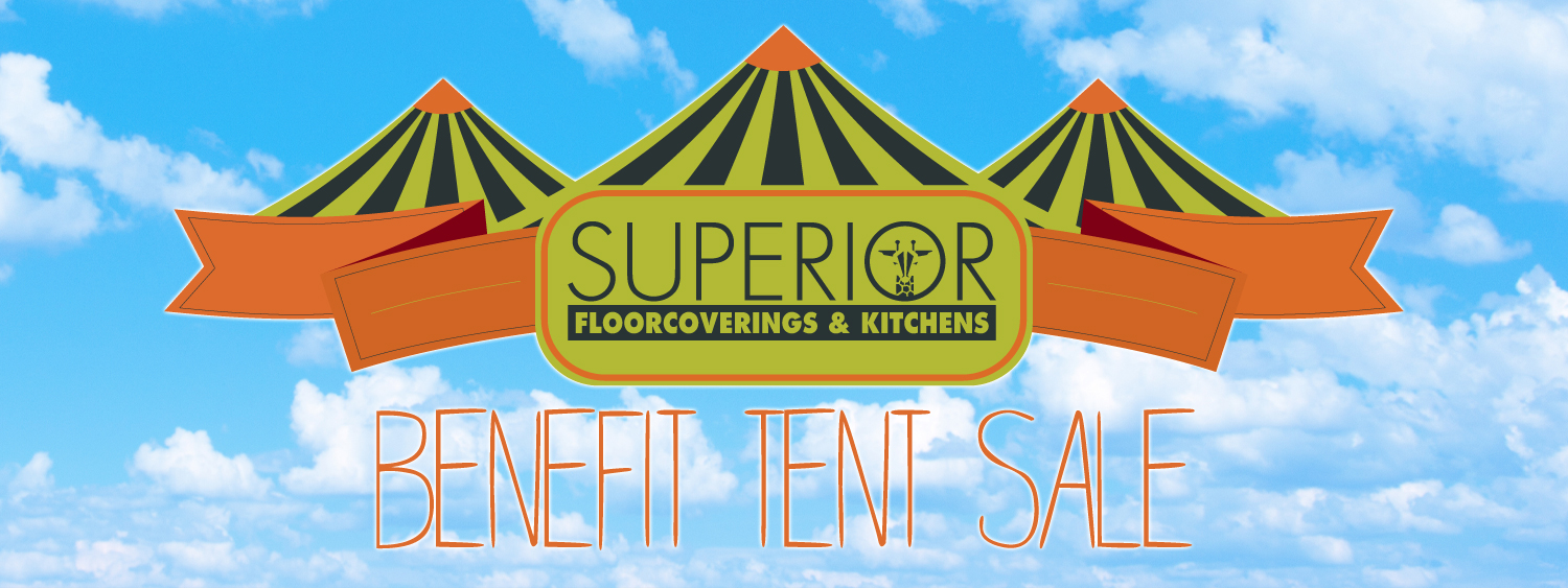 Superior Floorcoverings & Kitchens Benefit Tent Sale