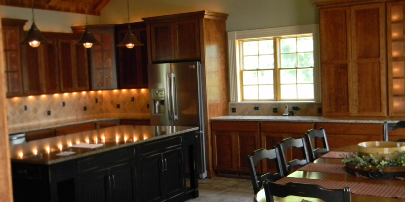 rustic custom kitchen – 03