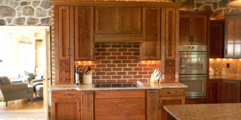 rustic custom kitchen – 05
