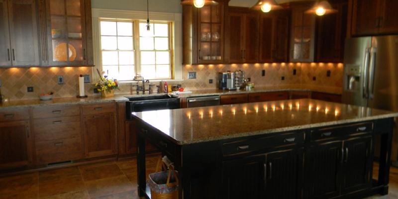 rustic custom kitchen – 07