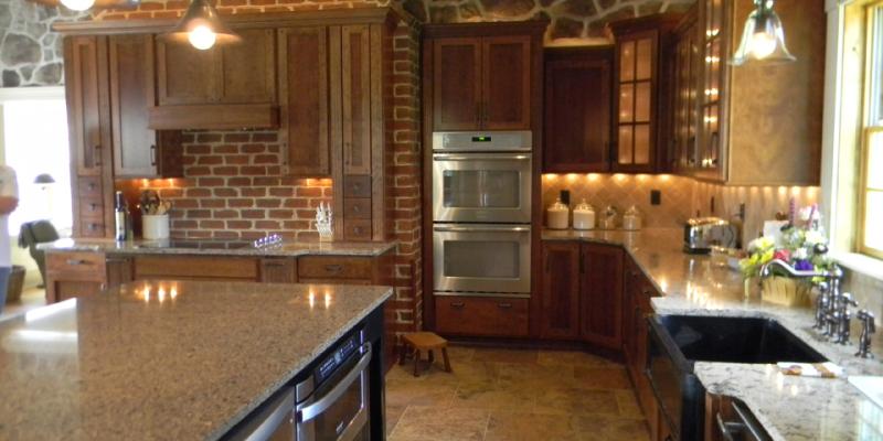 rustic custom kitchen – 08