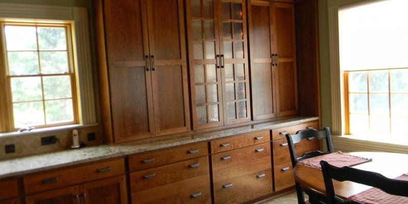 rustic custom kitchen – 10