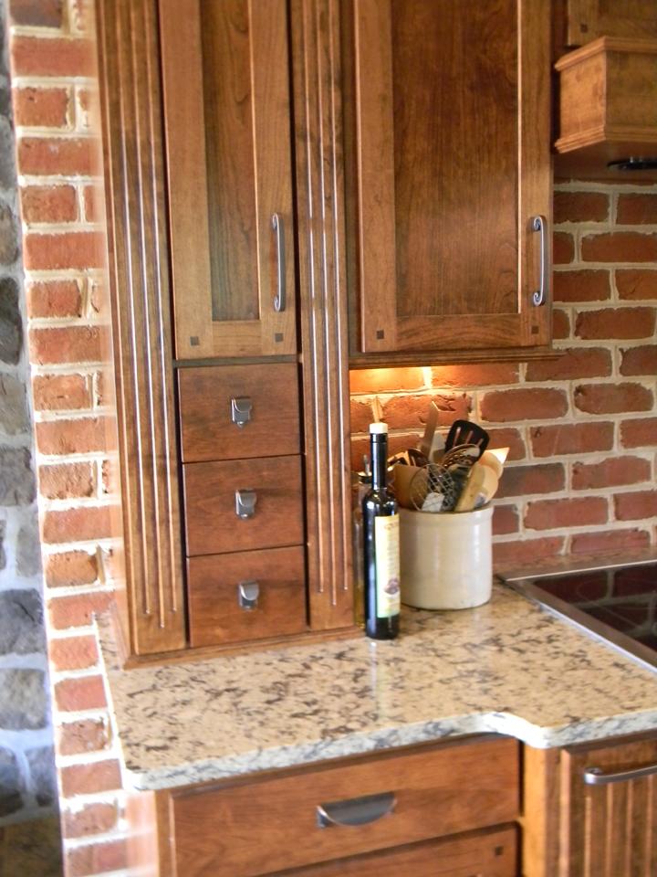 rustic custom kitchen – 13