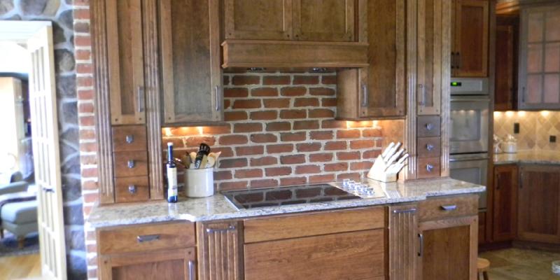 rustic custom kitchen – 14