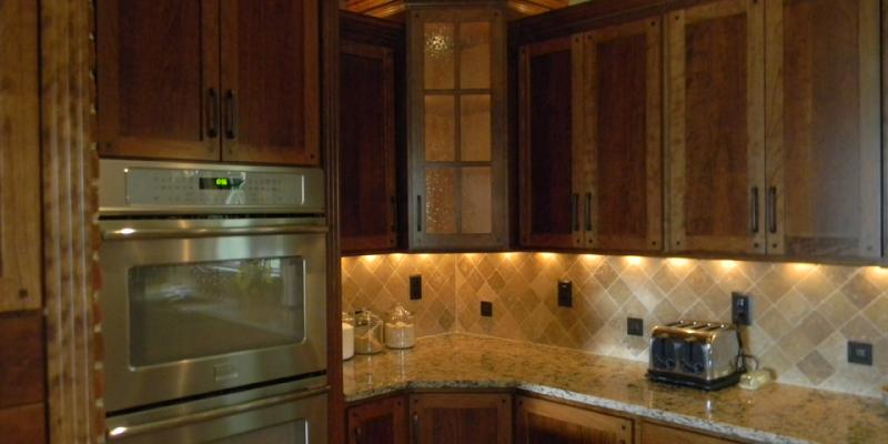 rustic custom kitchen – 15