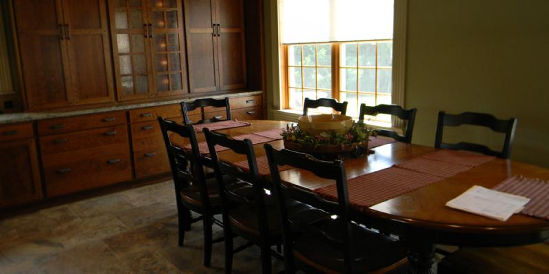 rustic custom kitchen – 17