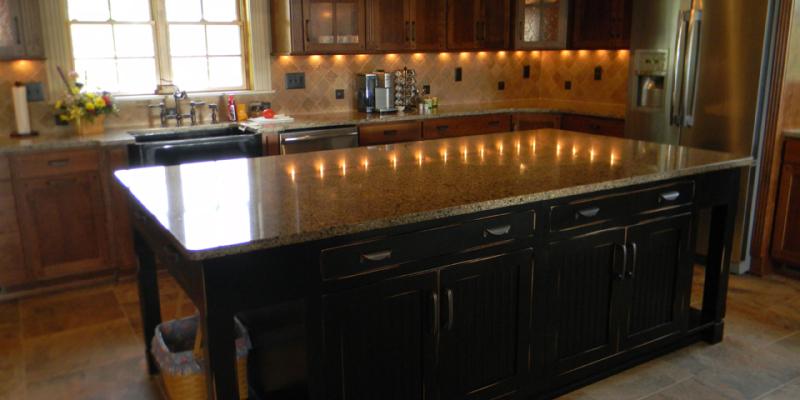 rustic custom kitchen – 18