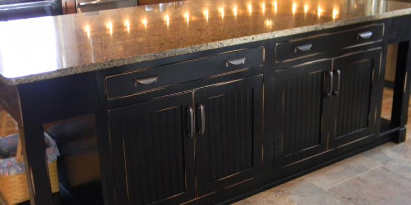 rustic custom kitchen – 19