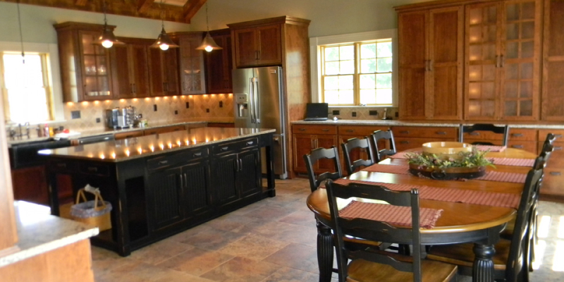rustic custom kitchen – 20