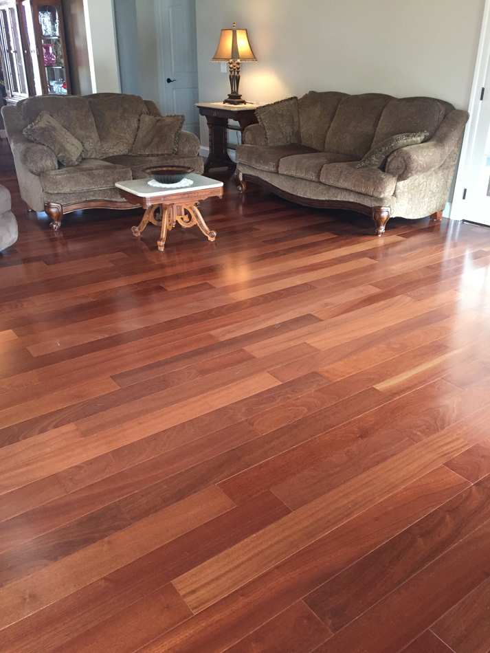 Hardwood Floor: African Sapelle